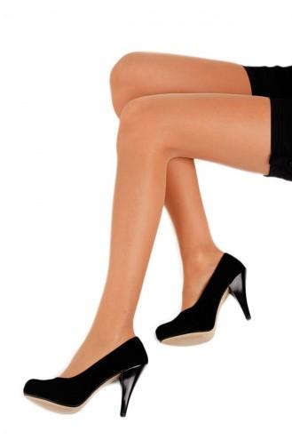 Külotlu Çorap Şeffaf Yarı Parlak Ten Rengi
