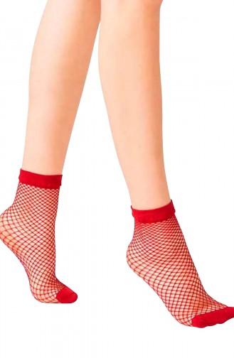 Mite Love File Soket Kadın Çorabı