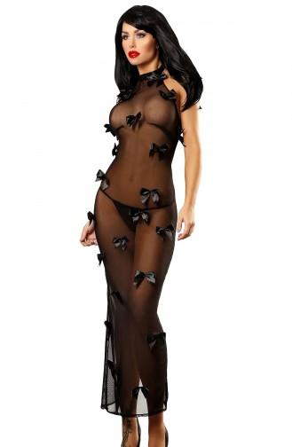 Mite Love Tül Gecelik Fiyonklu Tasarım Fantazi Giyim