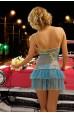 Mite Love Mavi Tül Gecelik Takımı Fantazi Giyim