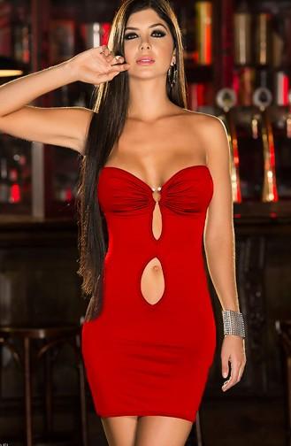 Mite Love Fantazi Elbise Kırmızı Seksi Giyim