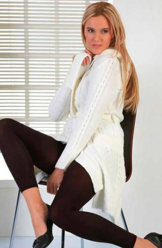 Mite Love Külotlu Termal Tayt Kadın Giyim Kahverengi