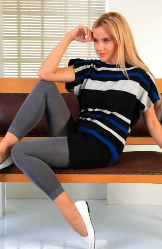 Mite Love Külotlu Termal Tayt Kadın Giyim Gri