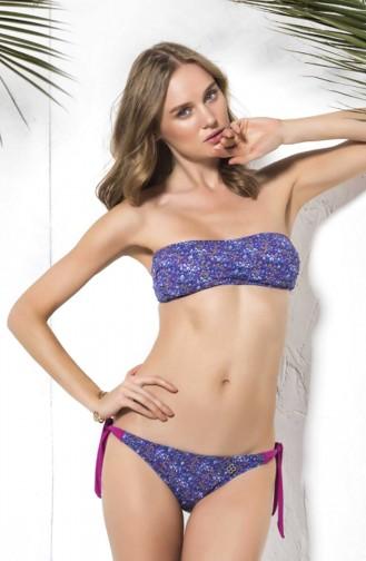 Mite Love Renkli Tasarım Seksi Bikini Nora