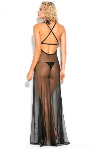 Mite Love Fransız Dantelli Kadın Gecelik Fantazi Giyim