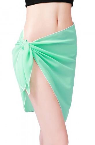 Mite Love Mint Yeşili Tül Pareo