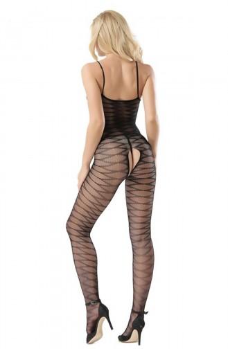 Mite Love Vücut Çorabı Dinamik Desenli Fantazi Giyim