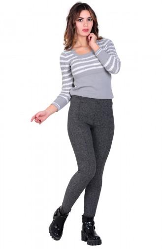 Mite Love Kadın Tayt Pantolon Füme Cotton