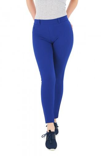 Mite Love Cep Detaylı Pantolon Tayt Mavi