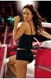 Mite Love Gecelik Star Lacivert Şortlu Alt Üst Takım