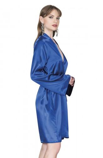 Mite Love Pijama Takım Şortlu Büstiyer Mavi