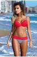 Angelsin Kırmızı Destekli Bikini Üst
