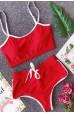 Merry See Askılı Büstiyer Kırmızı